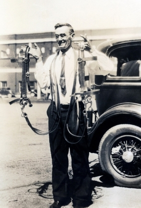 James Richard West in Tulsa about 1929