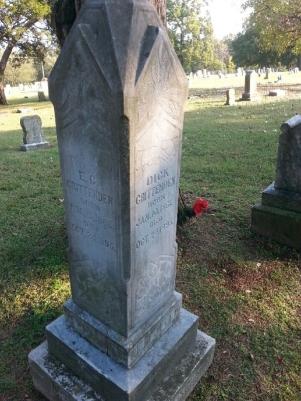 Dick and Zeke Crittenden Headstone Hulbert Cemetery