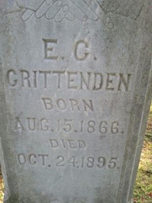 Zeke Crittenden Headstone Closeup