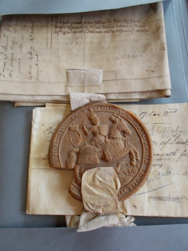 Look at this seal from the 1600s.JPG